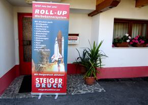 ...Roll Up - Steigerdruck ist der richtige Partner